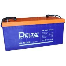 Аккумулятор Delta GX 12-200 (12В/200Ач)