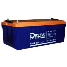 Аккумулятор Delta GX 12-230 (12В/230Ач)