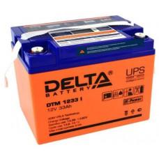 Аккумулятор Delta DTM 1233 I (12В / 33Ач)