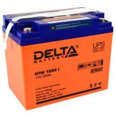 Аккумулятор Delta DTM 1255 I (12В / 55Ач)