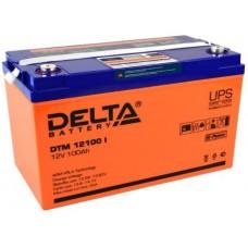 Аккумулятор Delta DTM 12100 I (12В / 100Ач)