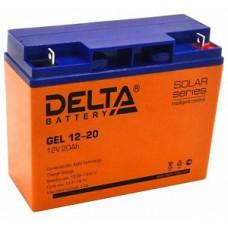 Аккумулятор Delta GEL 12-20 (12В / 20Ач )