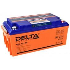 Аккумулятор Delta GEL 12-65 (12В / 65Ач)