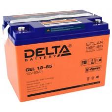 Аккумулятор Delta GEL 12-85 (12В / 85Ач)