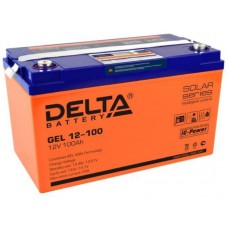 Аккумулятор Delta GEL 12-100 (12В / 100Ач)