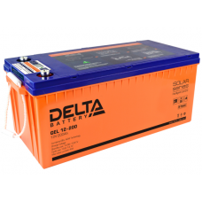 Аккумулятор Delta GEL 12-200 (12В / 200Ач)