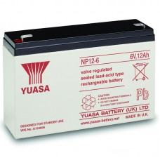 Аккумулятор Yuasa NP12-6 (12Ач/6В)