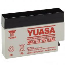 Аккумулятор Yuasa NP0.8-12 (0,8Ач/12В)