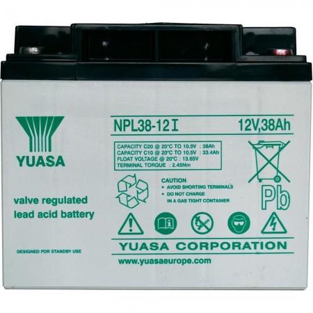Аккумулятор Yuasa NPL 38-12I (12В / 38Ач)