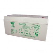 Аккумулятор Yuasa NPL 78-12IFR (12В / 78Ач)