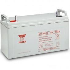 Аккумулятор Yuasa NPL 100-12 (12В / 100Ач)