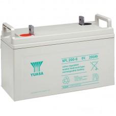 Аккумулятор Yuasa NPL 200-6 (6В / 200Ач)