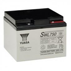Аккумулятор Yuasa SWL750 (25Ач/12В)
