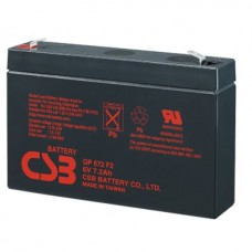 Аккумулятор CSB GP 672 (6В/7.2Ач)