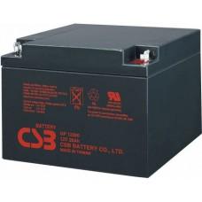 Аккумулятор CSB GP 12260 (12В/26Ач)