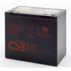 Аккумулятор CSB GPL 12520 (12В/52Ач)