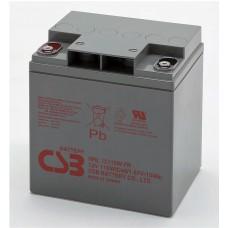 Аккумулятор CSB HRL 12110W (12В/28Ач)