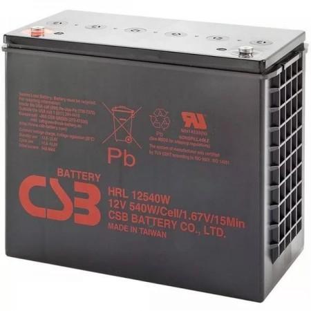 Аккумулятор CSB HRL 12540W (12В/130Ач)