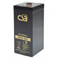 Аккумулятор CSB MSV 300 (2В/300Ач)