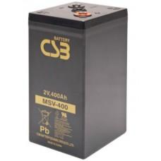 Аккумулятор CSB MSV 400 (2В/400Ач)