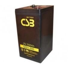 Аккумулятор CSB MSV 500 (2В/500Ач)