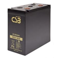 Аккумулятор CSB MSV 800 (2В/800Ач)