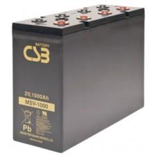 Аккумулятор CSB MSV 1000 (2В/1000Ач)