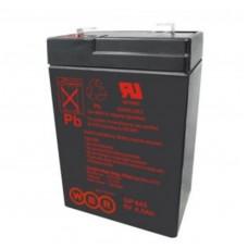 Аккумулятор WBR GP 645 (6В / 4.5 Ач)