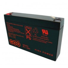 Аккумулятор WBR GP 672 (6В / 7.2 Ач)
