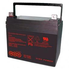 Аккумулятор WBR GP12340 (12В / 34Ач)