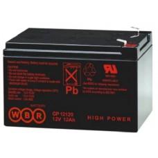 Аккумулятор WBR GPL12120 (12В / 12Ач)