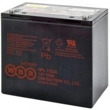 Аккумулятор WBR GPL12520 (12В / 55Ач)