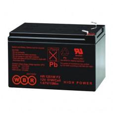 Аккумулятор WBR HR 1251W (12В / 12Ач)