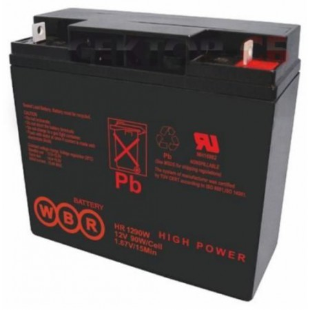 Аккумулятор WBR HR 1290W (12В / 23Ач)