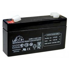 Аккумулятор LEOCH DJW 6-1.3 (6В/1.3Ач)