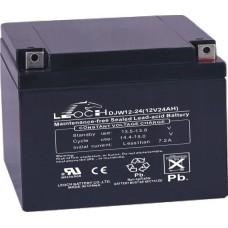 Аккумулятор LEOCH DJW 12-24 (12В/24Ач)