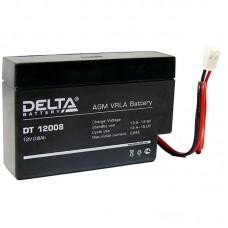 Аккумулятор Delta DT 12008 (12В/0.8Ач)