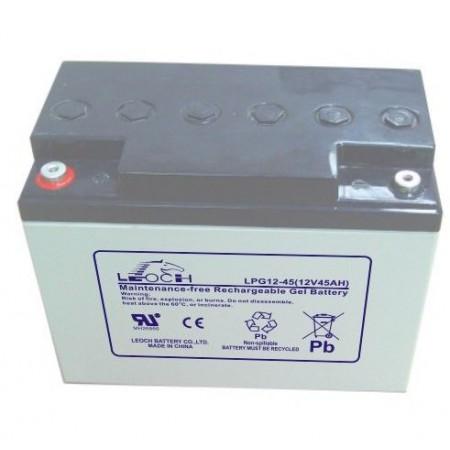 Аккумулятор LEOCH LPG 12-45 (12В/45Ач)