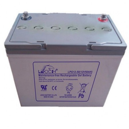 Аккумулятор LEOCH LPG12-50 (12В/50Ач)
