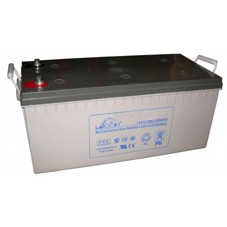 Аккумулятор LEOCH LPG12-200 (12В/200Ач)