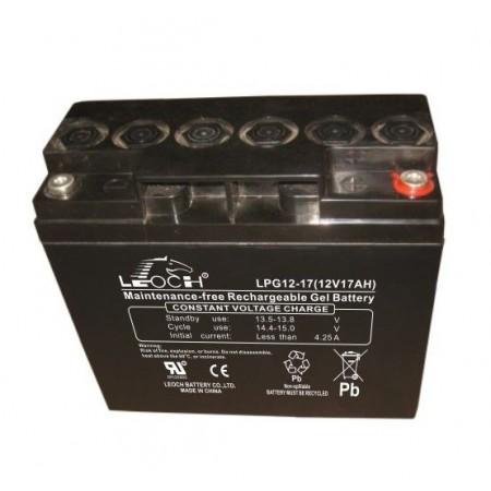 Аккумулятор LEOCH LPG 12-17 (12В/17Ач)
