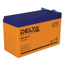 Аккумулятор Delta HR 12-9 L (12В/9Ач)