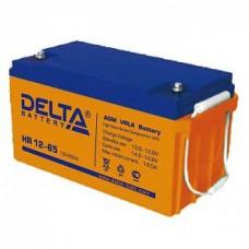 Аккумулятор Delta HR 12-65 L (12В/65Ач)