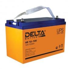 Аккумулятор Delta HR 12-100 L (12В/100Ач)