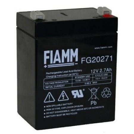 Аккумулятор FIAMM FG 20271 (12В/2.7Ач)