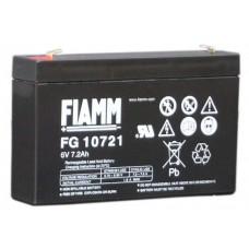 Аккумулятор FIAMM FG 10721 (6В/7.2Ач)