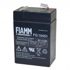 Аккумулятор FIAMM FG 10451 (6В/4.5Ач)