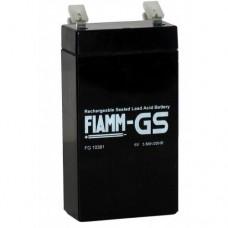 Аккумулятор FIAMM FG 10381 (6В/3.8Ач)
