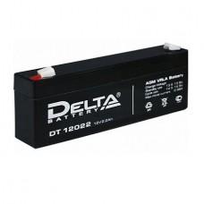 Аккумулятор Delta DT 12022 (12В/2.2Ач)