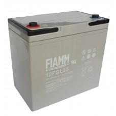 Аккумулятор FIAMM 12FGL55 (12В/55Ач)